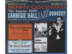 Benny Goodman - Complete 1938 Carnegie Hall Concert Plus... [4 CD Box Set] (Music CD)