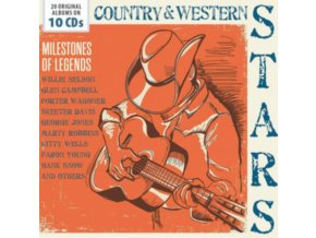 Various Artists - Country & Western Stars (Milestones of Legends) (Music CD)