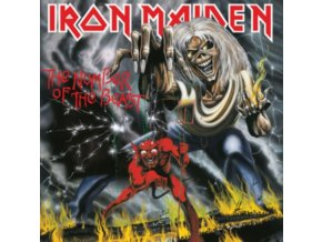 Iron Maiden - The Number Of The Beast (Remastered) (Music CD)