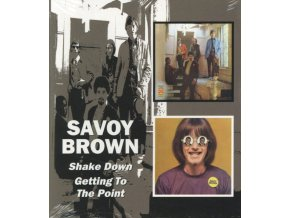 Savoy Brown Blues Band - Shake Down/Getting To The Point (Music CD)