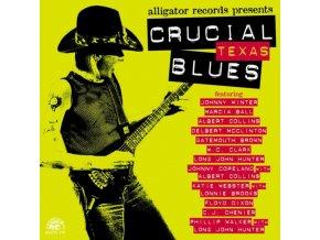 VARIOUS ARTISTS - Crucial Texas Blues (CD)