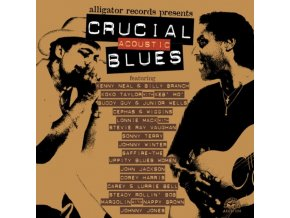 VARIOUS ARTISTS - Crucial Acoustic Blues (CD)