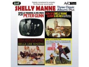 SHELLY MANNE - Three Classic Albums Plus (CD)