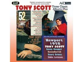 TONY SCOTT - Three Classic Albums Plus (CD)