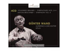 GURZENICH ORCH COLOGNE/WAND - Brahms/Symphonies Nos. 2 & 4 (CD)