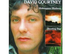 DAVID COURTNEY - Midsummer Madness / Shooting Star (CD)