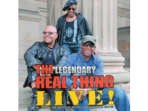 REAL THING - Live At The Liverpool Philharmonic 2013 (CD)