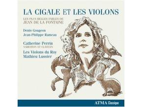 CATHERINE PERRIN/LES VIOLONS D - La Cigale Et Les Violons (CD)