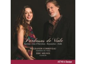 MELISANDE CORRIVEAU - Barriere: Pardessus De Viole (CD)