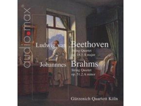 GURZENICH QUARTETT - Quartet A Major Op 18 5/Quartet A Minor (CD)