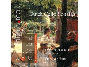 DORIS HOCHSCHEID & FRANS VAN RUTH - Dutch Cello Sonatas Vol 7 - The Maastricht-Paris Connection (SACD)