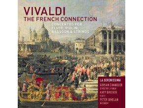 LA SERENISSIMA & ADRIAN CHANDLER - Vivaldi/French Connect (CD)