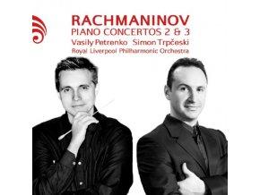 TRPCESKI / RLPO / PETRENKO - Rachmaninov/Piano Concertos 2 & 3 (CD)