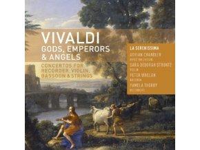 LA SERENISSIMA & ADRIAN CHANDLER - Vivaldi/Gods Emperors (CD)