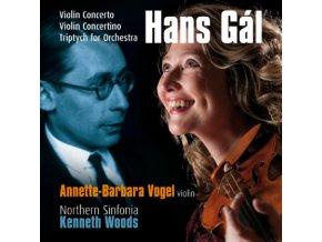 VOGEL / NORTHERN SINFONIA / WOODS - Gal/Violin Concerto (CD)