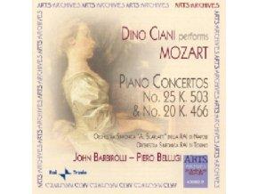 RAI SYM ORCHS CIANI - Mozart Piano Concertos 20 & 25 (CD)