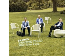 TRIO JEAN PAUL - Brahms: String Sextets Nos. 1 & 2 ( Arr. For Piano Trio) (CD)