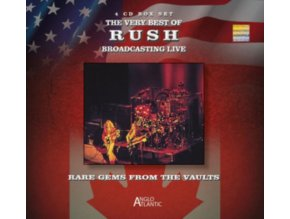 RUSH - The Very Best Of Rush - Broadcasting Live (CD)