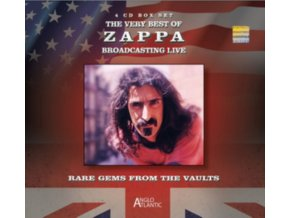 FRANK ZAPPA - The Very Best Of Zappa - Broadcasting Live (CD)