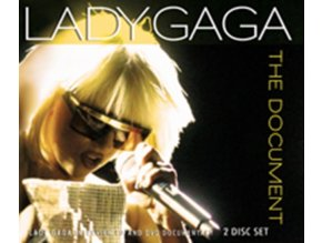 LADY GAGA - The Document (CD + DVD)