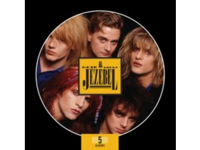 GENE LOVES JEZEBEL - 5 Album Boxset (CD)