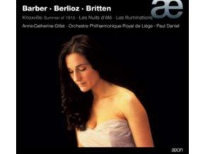GILLET/PO DE LIEGE/DANIEL - Barber/Berlioz/Knoxville (CD)