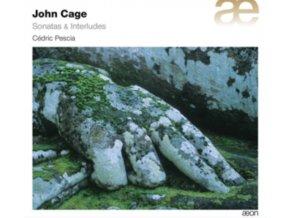 CEDRIC PESCIA - John Cage/Sonatas & Interludes (CD)