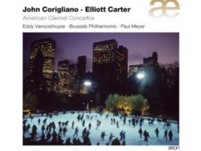 BRUSSELS PO/VANOOSTHUYSE/MEYER - Corigliano & Carter - American Clarinet (CD)