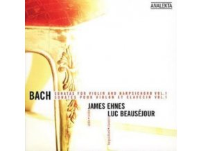 EHNES/BEAUSEJOUR - Bach/Sonatas For Violin & Harpsichord (CD)