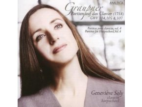 GENEVIEVE SOLY - Graupner/Partitas For Harpsichord (CD)