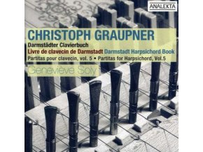 GENEVIEVE SOLY - Graupner/Partitas For Harpsichord - 5 (CD)