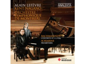 LEFOVRE/SO DE MONTREAL - Piano Concerto No 4/Promethius (CD)