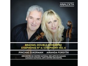PINCHAS ZUKERMAN / AMANDA FORSYTH / NATIONAL ARTS CENTRE ORCHESTRA - Brahms: Double Concerto / Symphony No. 4 (CD)