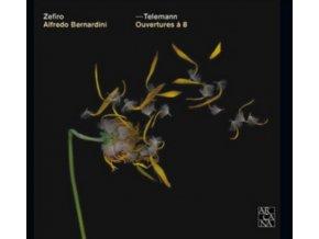 ZEFIRO BAROQUE ORCHESTRA - Telemann/Overtures A 8 For 3 Oboes Bass (CD)