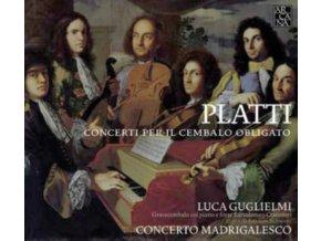 LUCA GUGLIELMI - Platti/Concerti Per Il Cembalo Obligato (CD)