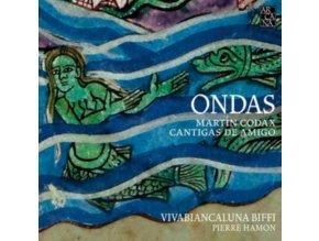 VIVABIANCALUNA BIFFI / PIERRE HAMON - Martin Codax: Ondas - Cantigas De Amigo (CD)