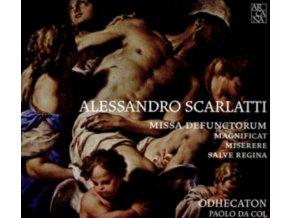 ODHECATON / PAOLO DA COL - Alessandro Scarlatti: Missa Defuntorum / Magnificat / Miserere / Salve Regina (CD)