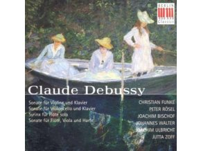 ANNA GOURARI - Debussy - Chamber Works (CD)