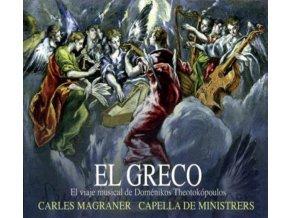 CAPELLA DE MINISTRERS - El Greco - Domenikos Theotokopoulos (CD)