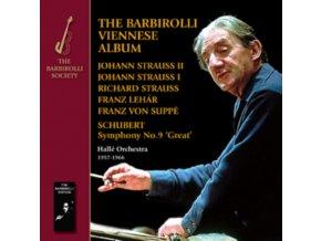 JOHN BARBIROLLI / HALLE ORCHESTRA - The Barbirolli Viennese Album (CD)