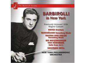 JOHN BARBIROLLI - Wagner - New York Concert 1 (CD)