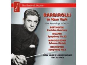JOHN BARBIROLLI / NY PO - Beethoven / Mendelssohn / Moz (CD)