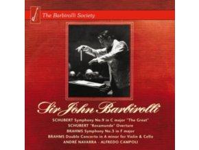 JOHN BARBIROLLI / HALLE ORCHES - Schubert & Brahms -Symphonie (CD)