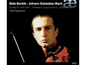 TEDI PAPAVRAMI. VIOLIN - Bartók: Sonata For Solo Violin / Js Bach: Fantaisie & Fugue (CD)