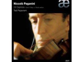 TEDI PAPAVRAMI - Paganini: 24 Caprices (CD)