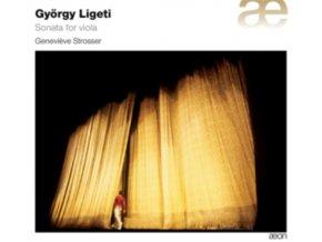 GENEVIEVE STROSSER - Ligeti: Sonate Pour Alto (CD)
