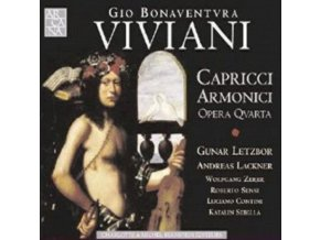 GUNAR LETZBOR / ANDREA LACKN - Viviani: Capricci Armonici Opera Quarta (CD)