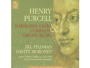 JILL FELDMAN / DAVITT MORON - Purcell: Harmonia Sacra & Compl Organ (CD)