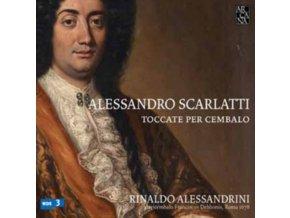 LA REVERDIE - Alessandro Scarlatti: Toccate Per Cembal (CD)