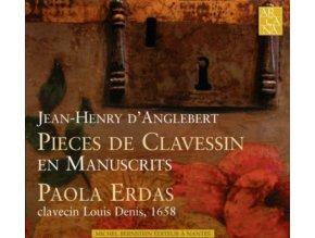 ERDAS PAOLA - DAnglebert: Pièces De Clavessin (CD)